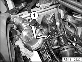 11 65 020 Remove and install/replace (N20) exhaust