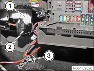 Replacing wiring harness for blower controller