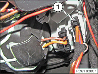 Repairing wiring harness for blower controller
