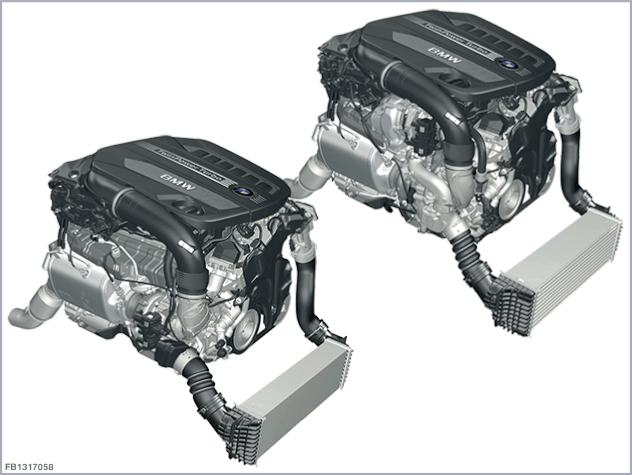6-cylinder diesel engine B57D30O0 and B57D30T0