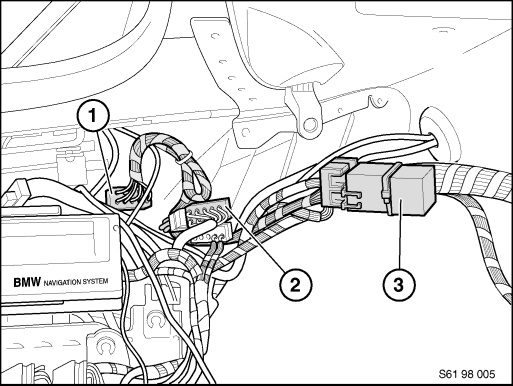 replace dsp lifier and retrofit adapter cable for dsp lifier E46 BMW Factory Wiring Diagrams 1 connection to main wiring harness