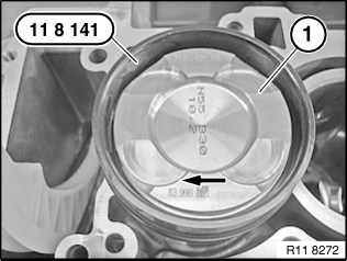 11 25 530 Removing and installing/replacing all pistons (N55)