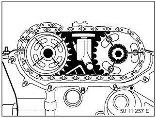 11 12 100 Removing and installing/sealing cylinder head (M52