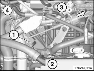 24 10 006 Removing and installing/replacing gear position